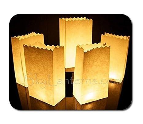Bolsas de vela - vela bolsas para velas (Pack de 100 ...