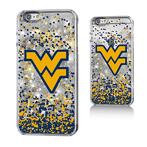 West Virginia Mountaineers Gold Glitter iPhone 6+ Case NCAA (Stores In West Virginia)