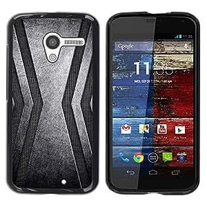 Be Good Phone Accessory // Dura Cáscara cubierta Protectora Caso Carcasa Funda de Protección para Motorola Moto X 1 1st GEN I XT1058 XT1053 XT1052 XT1056 XT1060 XT1055 // Stainless
