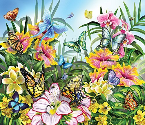 - SunsOut Butterflies in The Garden 200 pc Jigsaw Puzzle
