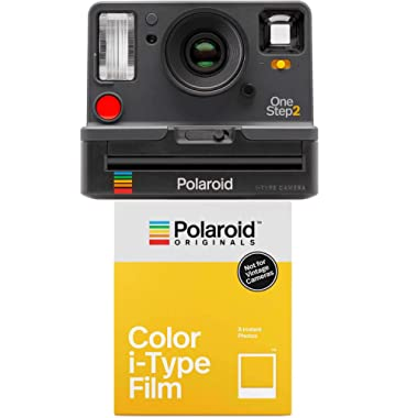 Polaroid OneStep2 i-Type Rechargeable Camera (Graphite Grey) with Color i-Type Film