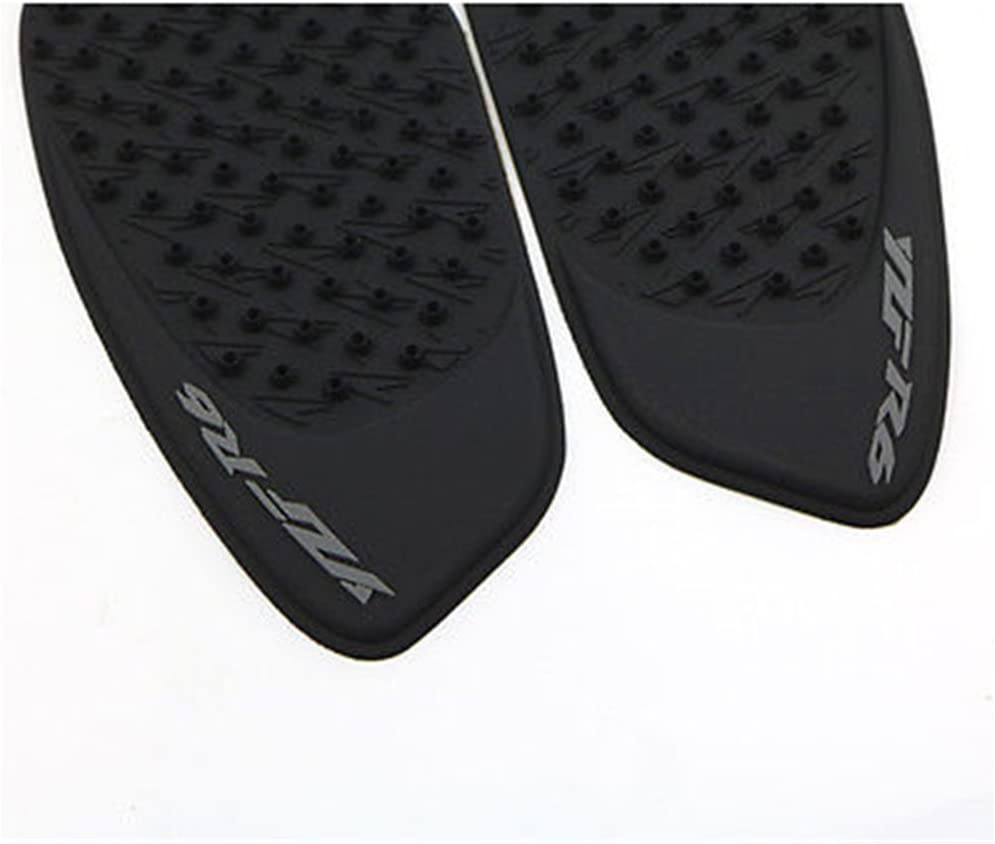 3D Rubber Tank Traction Pad Side Gas Knee Grip Protector For Suzuki GSXR600 GSXR750 2006 2007