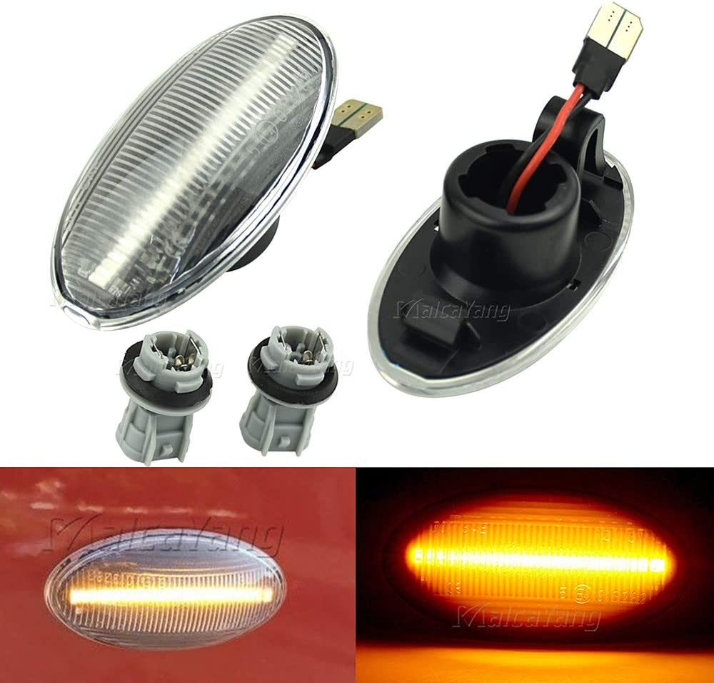 Feux Lat/éraux Indicateur Dynamiques LED Clignotant pour Grand Vitara Splash Swift SX4 S-Cross XL7 Sedici Agila Mk2