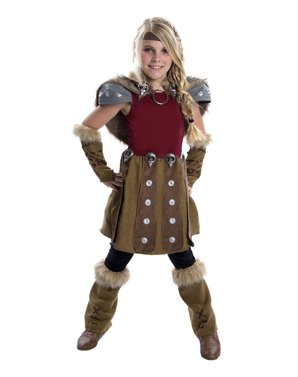 How To Train Your Dragon 2 Girls Astrid Costume Medium 810 Years:  Amazon: Toys & Games