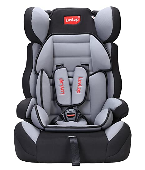 Buy Luv Lap Comfy Baby Car Seat (Gray) Online