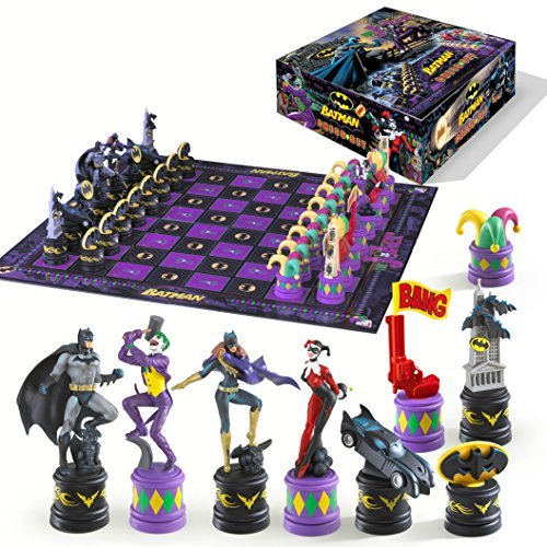 Batman Dark Knight vs The Joker Chess Set (Dark Knight Collection)