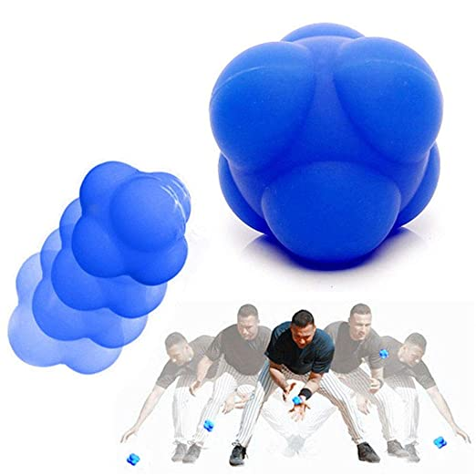 euwanyu 1Pcs Reaction Ball Hexagonal Training Ball Fun High ...
