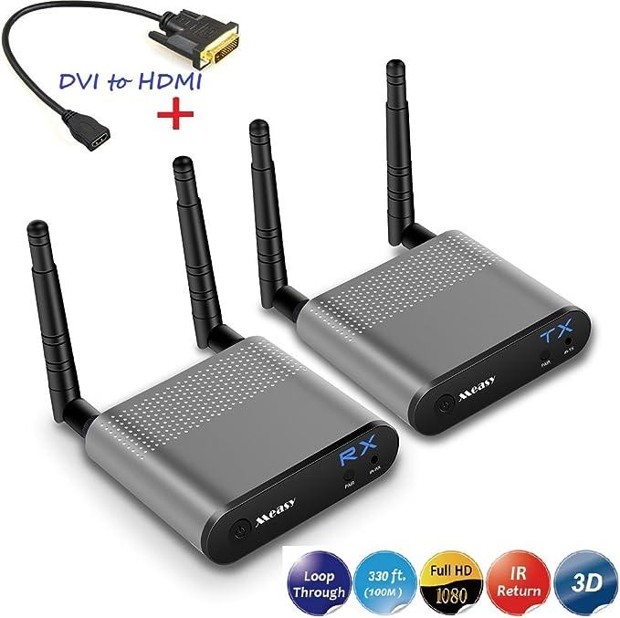 Measy Wireless Hd Extender Für Hdmi Mit Air Pro Dvi Elektronik