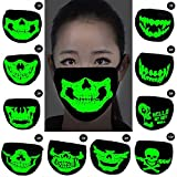 Forfar Skull Cycling Face Mask - Windproof Tube Face Mask Half Face for Outdoor Riding