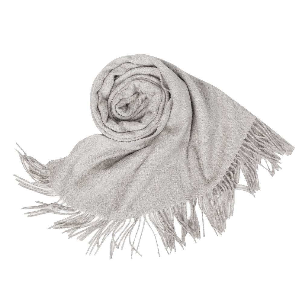 KAISIN 100% Wool Women Soft Shawl Ultra-Plush Comfort Largesize Blanket Scarf,Use For Home,Outdoor,Travel by KAISIN (Image #2)
