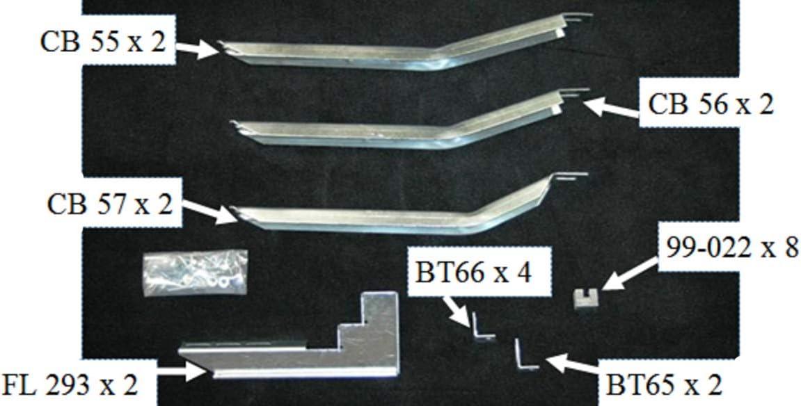 Owens Products 10-1305 Bracket Kit