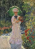Vivid Painting on Canvas Without Stretch and Without Frame ,Camille with Green umbrella, 1876 By Claude Monet, is the best gift for your relatives, or girl friend and boy friend. That is also for Bar, Basement, Bathroom, Bedroom, Dining Room,...