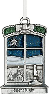 product image for Danforth - Silent Night 2018 Annual Ornament - Pewter - Handcrafted - 2 3/8 Inches - Made in USA