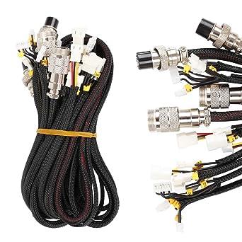 Huhuswwbin - Cable de extensión para impresora 3D Creality ...