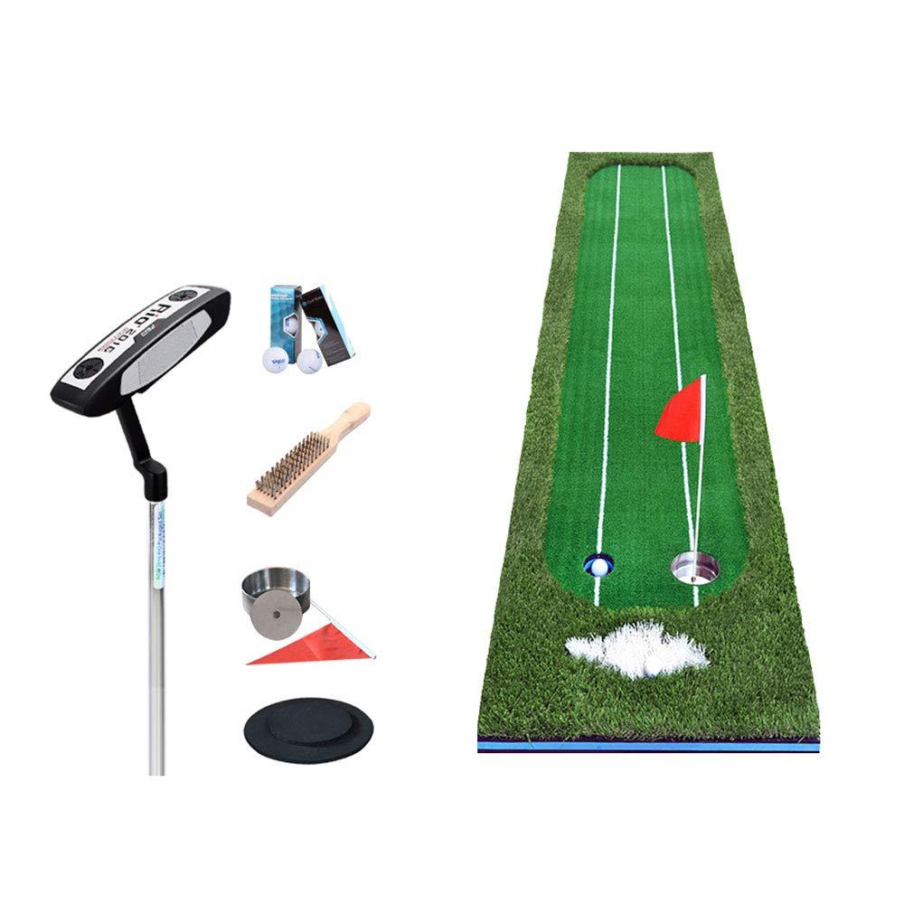 室内と屋外のスイングエクササイザ - ダブルライングリーントレーナー - 室内ゴルフ - パッドオフィスゴルフの運動毛布のサイズ:0.5x3.0m + (色 : A)  A B07QHTX3L6