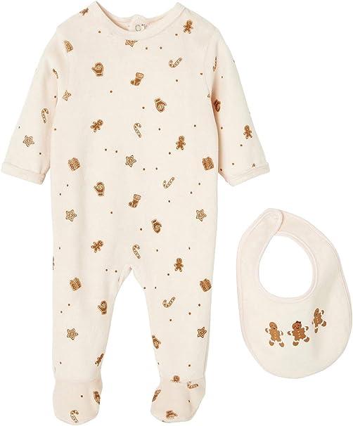 VERTBAUDET Estuche de navidad para bebé con pijama y babero ...