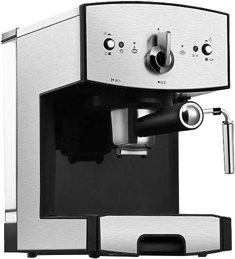 GJJSZ Cafetera 3 en 1: café en Polvo/Bolsa fácil/cápsula de café,pequeña máquina de café de Vapor semiautomática para Uso doméstico: Amazon.es: Deportes y aire libre