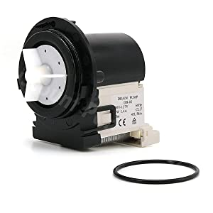 4681EA2001T Washer Drain Pump Replacement Parts For LG Washing Machines Assembly, Replaces AP5328388, 2003273, 4681EA2001D