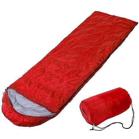 Saco de dormir portátil, cómodo y ligero, resistente al agua, ideal para 4
