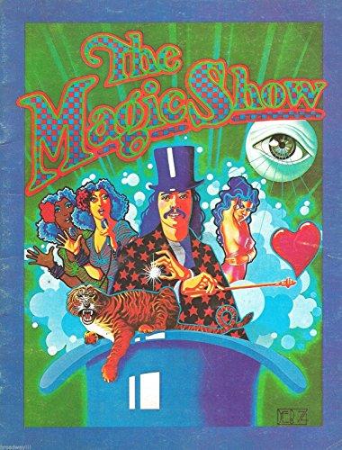 "Doug Henning""MAGIC SHOW"" Stephen Schwartz (""Wicked"") 1978 Broadway Souvenir Program"