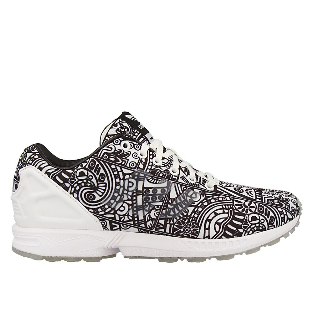 8b9b3e563 adidas ZX Flux Shoes - White - 12.5  Amazon.co.uk  Shoes   Bags
