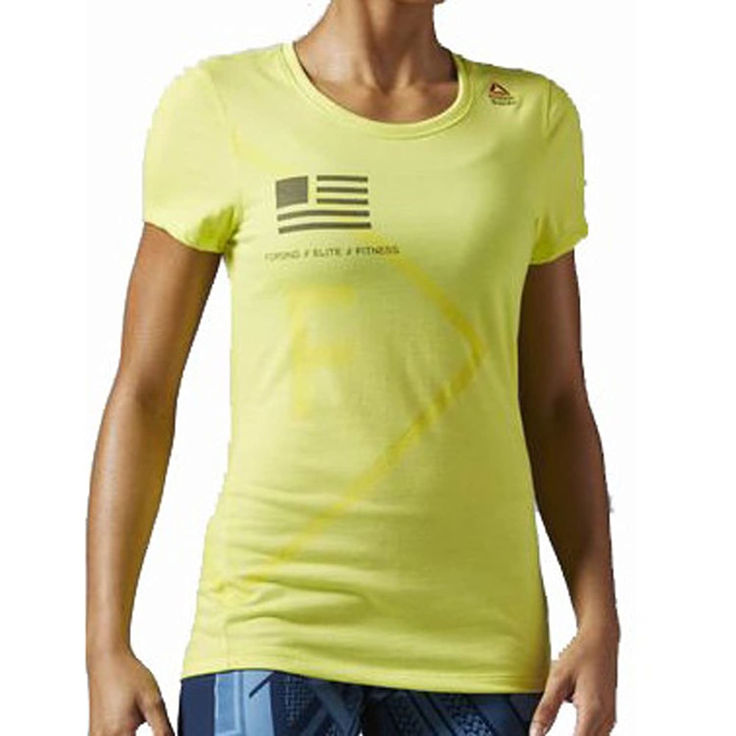 Reebok CrossFit Damen Shirt Performance Blend Graphic