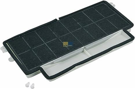 Bosch Siemens 00460028 460028 - Filtro de carbón activo (filtro de olores, rectangular, 480 x 240 mm, también para campana extractora Neff Balay CZ5000 DIZ14AF LX2000 Z5140X0 GB5037-11): Amazon.es: Grandes electrodomésticos