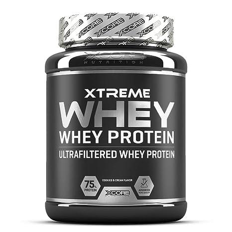 Xcore Nutrition Xtreme Whey, Sabor Fresa - 900 gr: Amazon.es ...