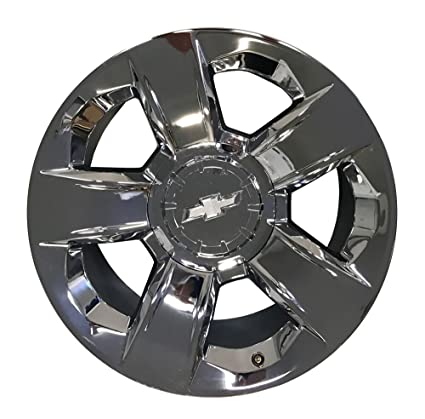 20 INCH 2014 2015 14 15 CHEVY SILVERADO TAHOE OEM CHROME ALLOY WHEEL RIM  5651 17beb0512d