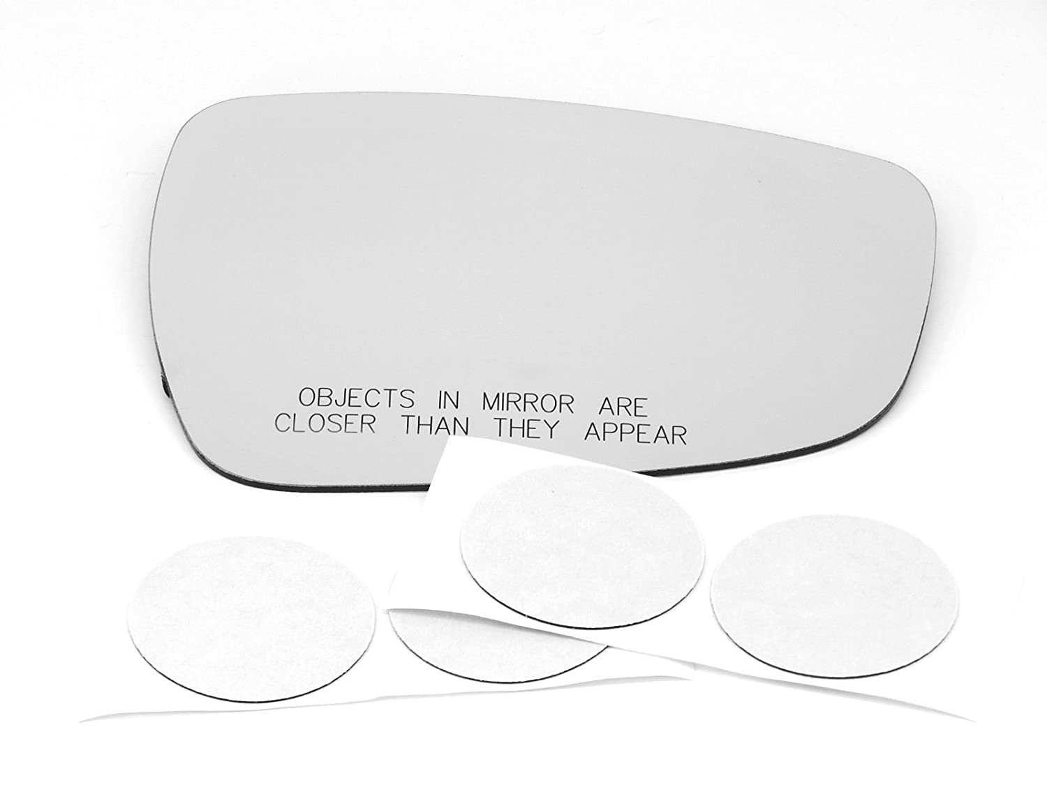 11-14 Sportage Right Passenger Convex Mirror Glass Lens w//Adhesive USA no backing plate