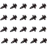8mm Fasteners Car Clips Pushtype Bumper Fastener Rivet NA01-56-145 Nylon Black