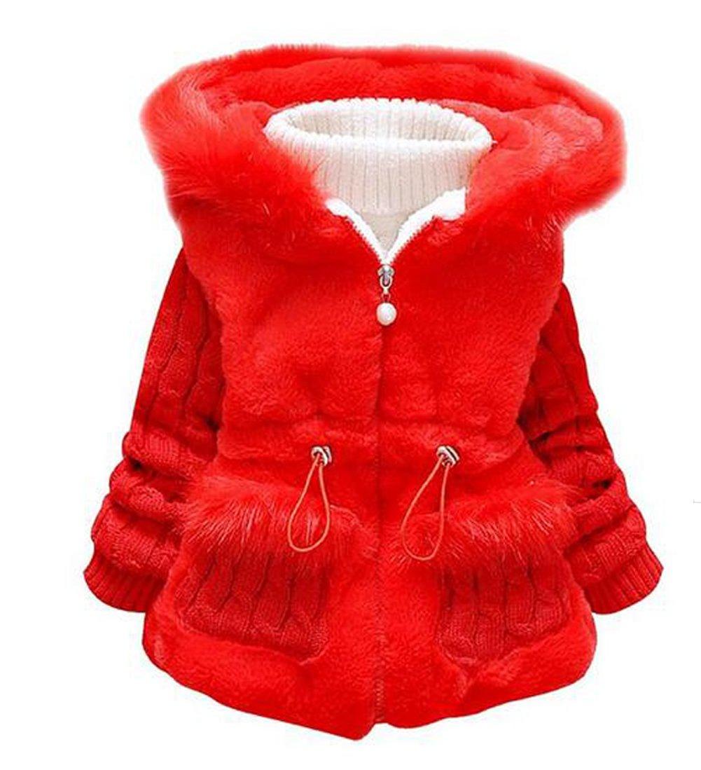 Cute Baby and Little Girl's Toddler Kids Winter Warm Coat Jacket Outwear Snowsuit BOP-ETFS-2