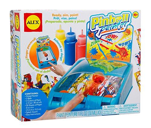 1 Ounce Color Splash - ALEX Toys Artist Studio Pinball Painter Splatter Paint Kit