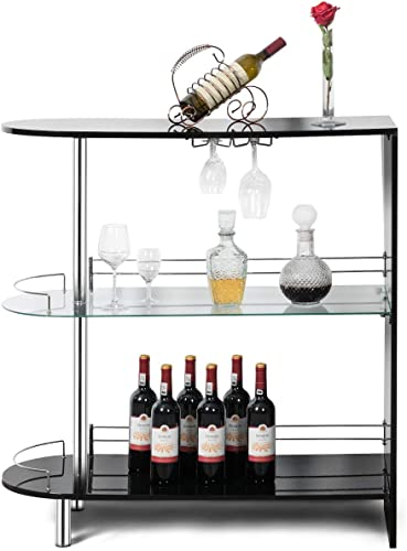 COSTWAY Bar Cabinets Table