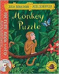 Monkey Puzzle. Book And Cd Pack: Amazon.es: Donaldson, Julia ...