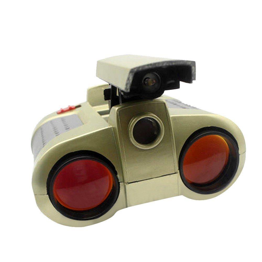 Kids双眼鏡4 x 30アウトドア双眼鏡for Kids双眼望遠鏡スコープ双眼鏡ポップアップライト付きナイトビジョンfor Kids Novelty Gifts Toys for Bird Watching、キャンプ、狩猟 B078N66RZ3 レッド レッド