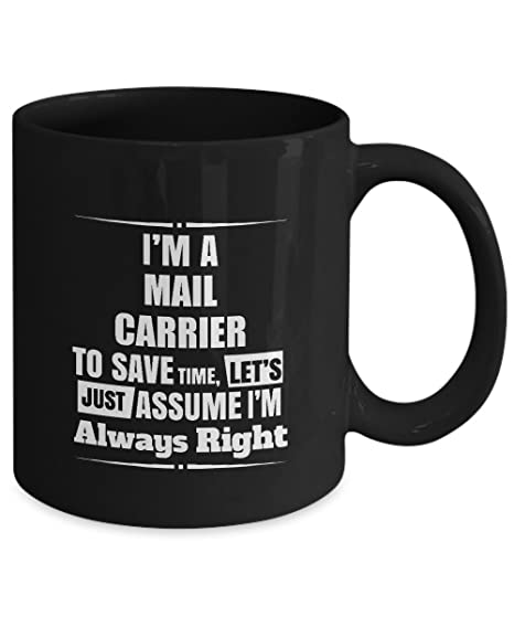 Amazoncom Mail Carrier Coffee Mug Im A Mail Carrier Im