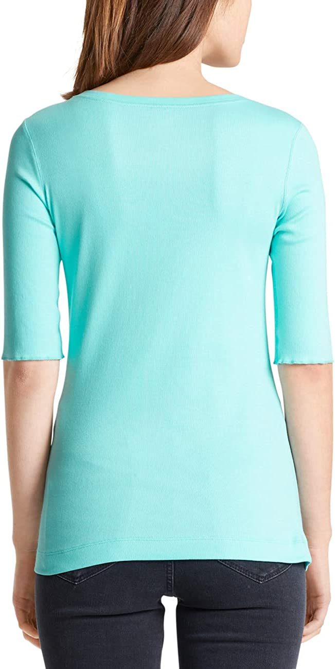 MARC CAIN SPORTS Women's T-Shirt Blue (Niagara 338)