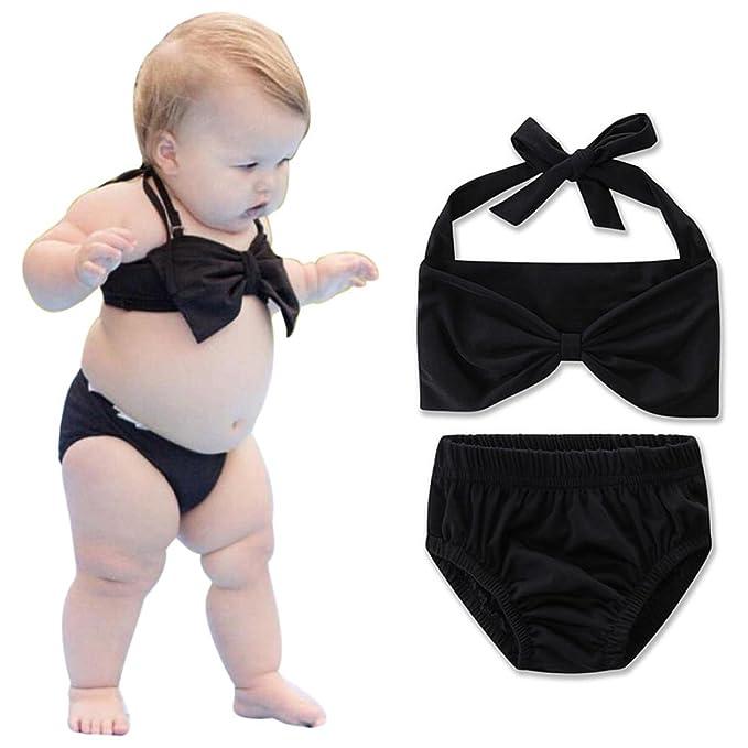 Amazon.com: moonker niños trajes de baño, Bebés, niñas ...