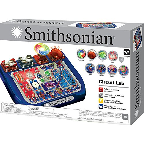 Circuit Lab Electronics Science Experiments Toy Scientist Learning Smithsonian For Ages 8+