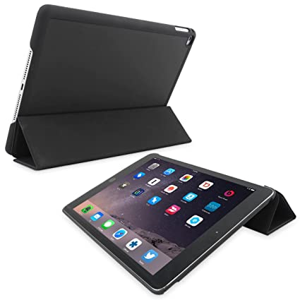 snugg ipad air 2 ultra thin smart case cover with flip standsnugg ipad air 2 ultra thin smart case cover with flip stand \u0026 lifetime guarantee (black) for apple ipad air 2 buy snugg ipad air 2 ultra thin smart