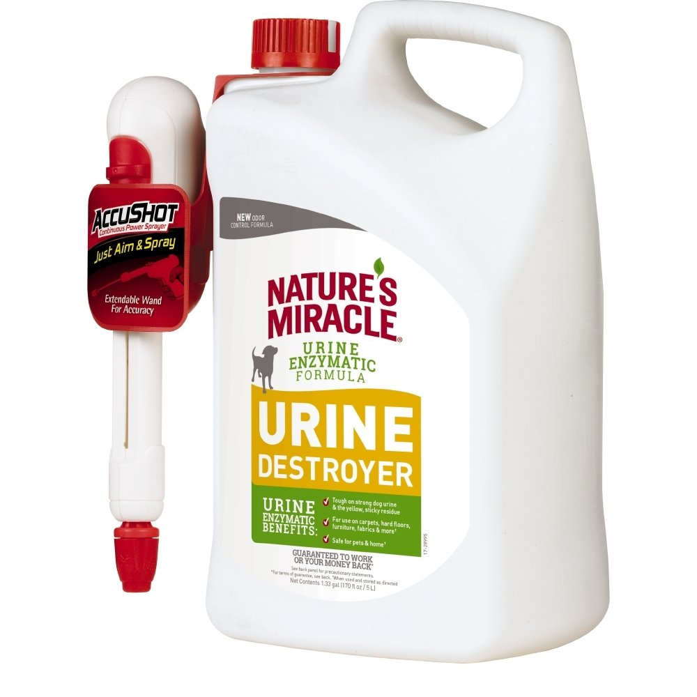 Nature's Miracle Urine Destroyer Dog, For Tough Urine Messes by Nature's Miracle