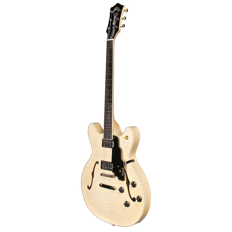 Hermandad Starfire IV ST Semi-Hollow cuerpo de arce guitarra eléctrica con funda (verde esmeralda): Amazon.es: Instrumentos musicales