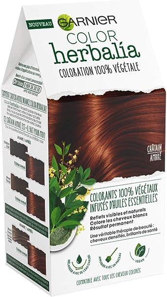 Color herbalia Coloración 100% vegetal châtain ámbar