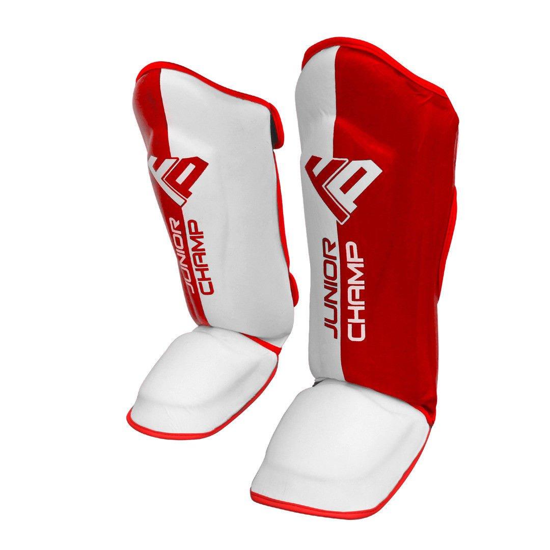 tibia et cou-de-pied Noir élastique Protège-tibias de karaté Muay Thai MMA UFC Taekwondo pour adultes/enfants Kick boxing tibia et cou-de-pied Tampons par Fight Prep
