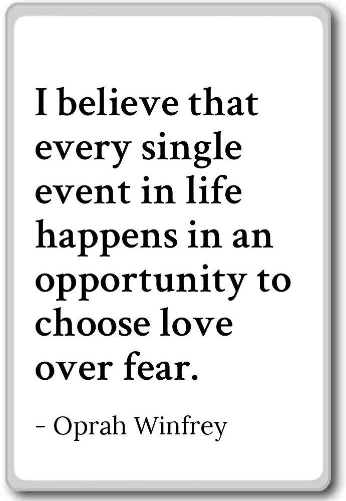 Creo que cada único caso en vida Hap... - Oprah Winfrey Comillas ...