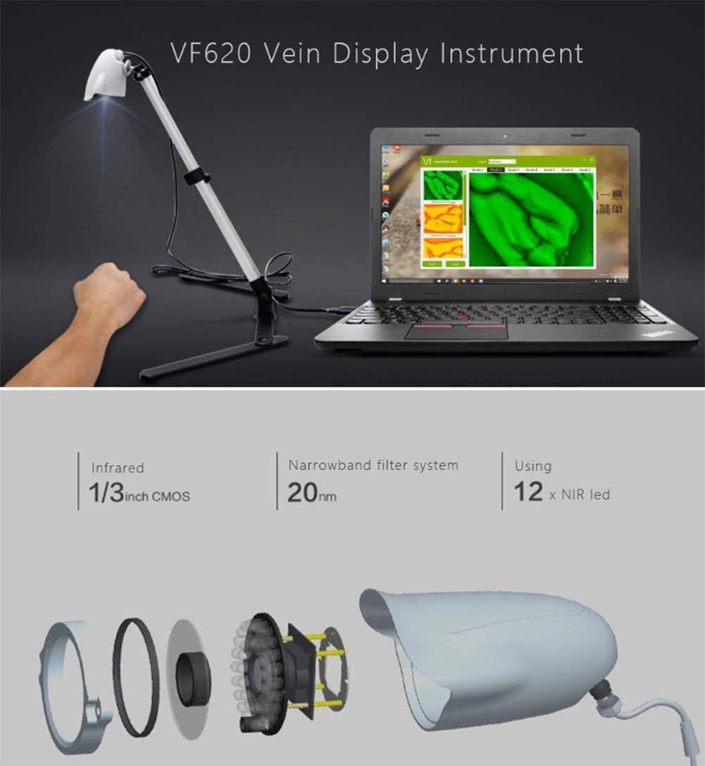 CXDM Infrared Projection Vein Finder, Adults Children Handy Efficiency Vein Locator,Vein Illumination Detector, On Various Skin by CXDM (Image #6)
