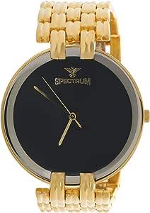 Spectrum Wrist Watch For Men Analog Stainless Steel, S12480M