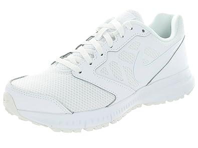 Nike Womens Downshifter  White/White Running Shoe