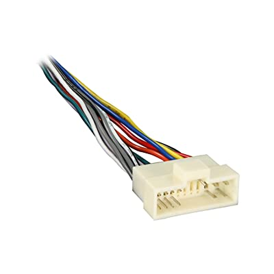 Metra 70-1003 Radio Wiring Harness for Kia 95-03 Power/4 Speaker: Car Electronics